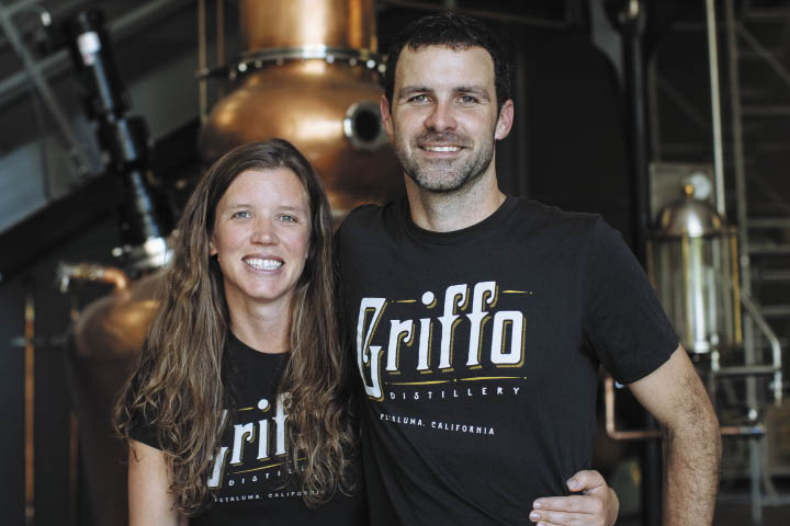Jenny Michael Griffo of Griffo Distillery in Sonoma County, California