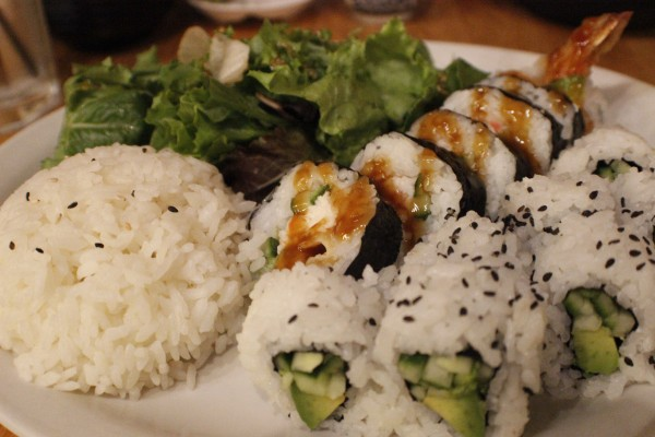 Boathouse Sushi in Rohnert Park is a best for date night for Sonoma State students.