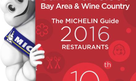 2016 Michelin Stars for San Francisco Bay Area Announced