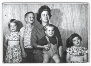 In 1958, Susan Farrell, right, in an undated family snapshot, was sent to live at Sonoma State Hospital, now Sonoma Developmental Center. Her father, Tom, later wrote a poem that expressed the family's pain at the separation.
