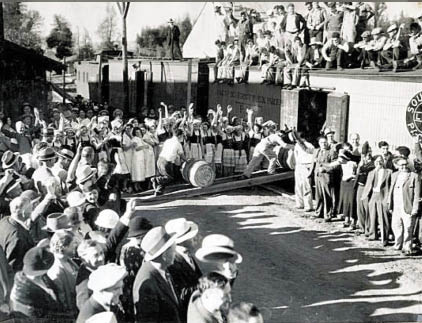 The Italian Swiss Colony provided good jobs and a welcoming, vibrant community for immigrant workers, their families and generations of their descendants. (Courtesy Paul Dolan)