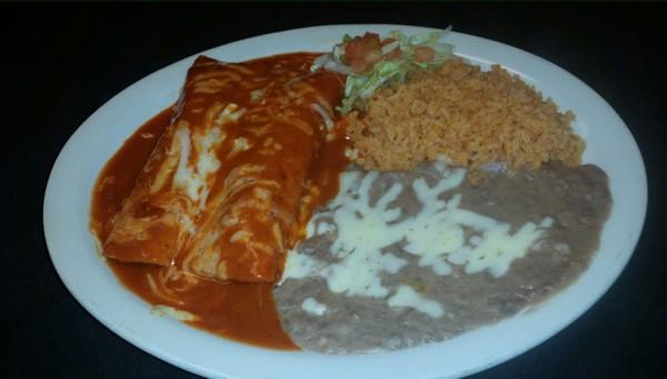 Sol Azteca has best burritos for Sonoma State Students.