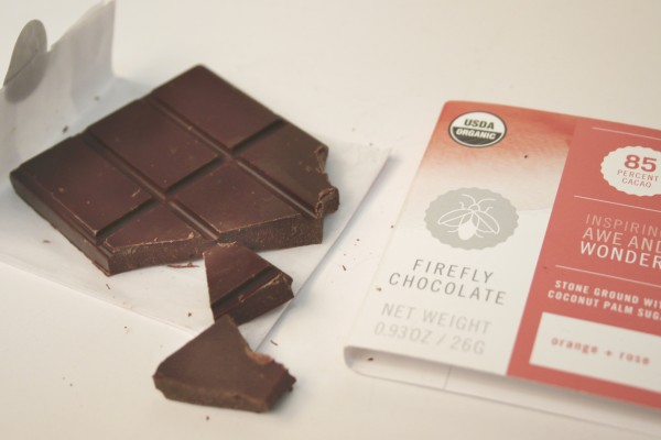 Firefly Chocolate from the town of Windsor, in Sonoma County, is 85% organic cacao. Photo: Heather Irwin