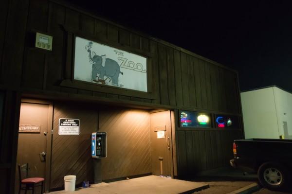 The Zoo Bar in Santa Rosa. Photo Pio Valenzuela.