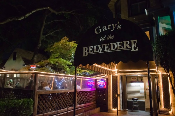 Gary's at the Belvedere is one of a trio of bars at College and Mendocino Aves in Santa Rosa jokingly called The Tipsy Triangle. Photo Pio Valenzuela.