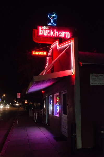 The Buckhorn Bar in Petaluma. Photo by Pio Valenzuela.
