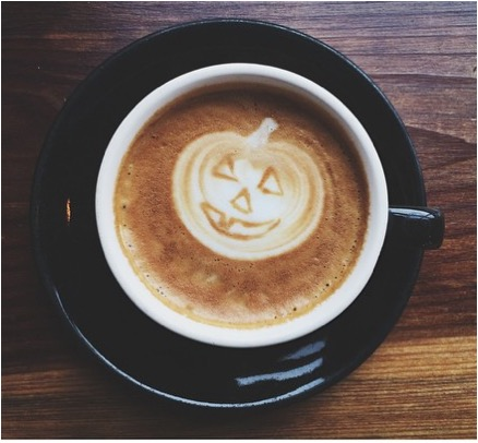 The Pumpkin Latte at Taylor Maid Coffee