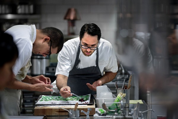 Chef Christopher Kostow of The Restaurant at Meadowood. Chris Hardy