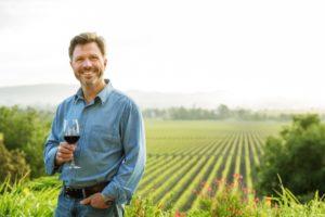 Steven Urberg Gloria Ferrer vineyard