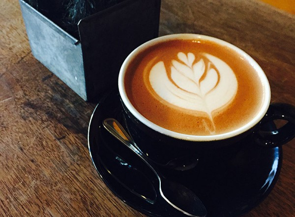 Aztec Mocha at Plank Coffee in Cloverdale. Photo: Matt Riney