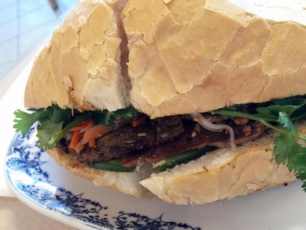 Lee's Noodle House Banh Mi is a favorite Vietnamese-style sandwich