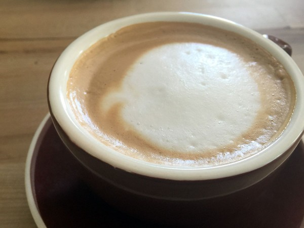 Cuban Coffee with Cream at Rumba Cuban Kitchen. Photo: Heather Irwin