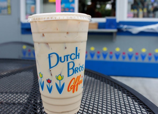 The Kicker at Dutch Brothers coffee