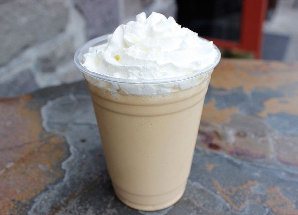 The Valentino Coffee drink at A'Roma Roasters in Santa Rosa. Photo: Jenna Fischer