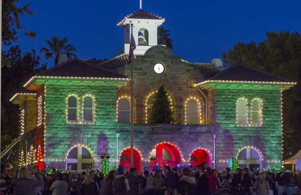 Sonoma was ranked among the best holiday towns in the US