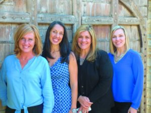 From left to right: Victoria Campbell, Susan da Ponte, Yvette Pruete, and Lindsay Darrimon.