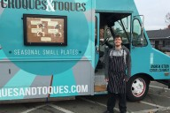 Andrew Jetson of Croques and Toques, a food truck in Sonoma County.
