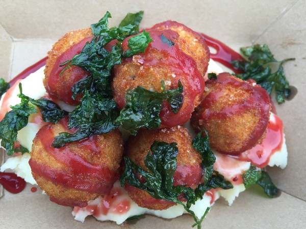Holiday croquettes from Croques and Toques, a new food truck in Sonoma County