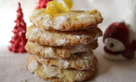 Jo's Lemon Snowflake Cookie Recipe