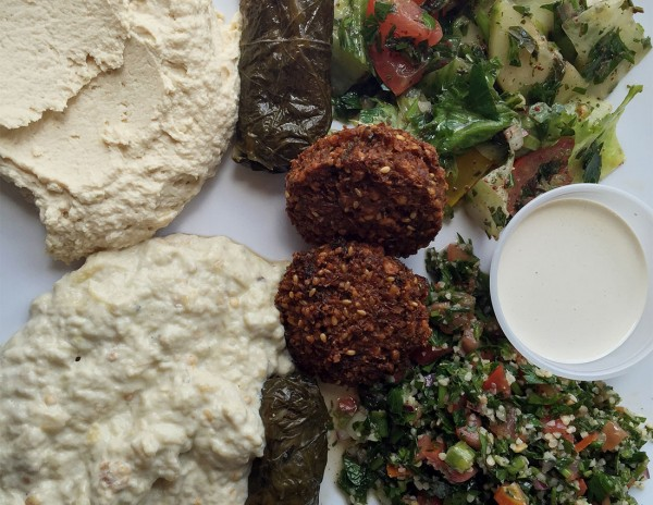 Mixed mezze platter: Grape Leaf Mediterranean Grill, one of the Best Restaurant Dishes of 2015Mixed mezze platter: Grape Leaf Mediterranean Grill, one of the Best Restaurant Dishes of 2015