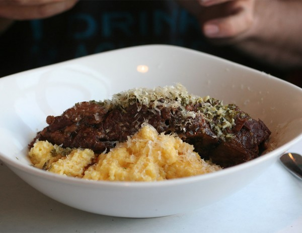 Short ribs and polenta: Hazel Restaurant, one of the Best Restaurant Dishes of 2015