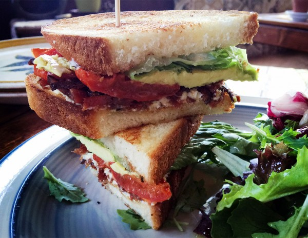 BLAT (bacon, lettuce, avocado, tomato): Wishbone,one of the Best Restaurant Dishes of 2015