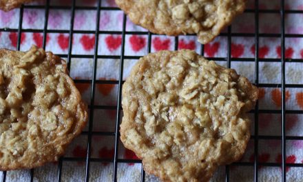 Best Ever Toffee Oatmeal Cookie Recipe