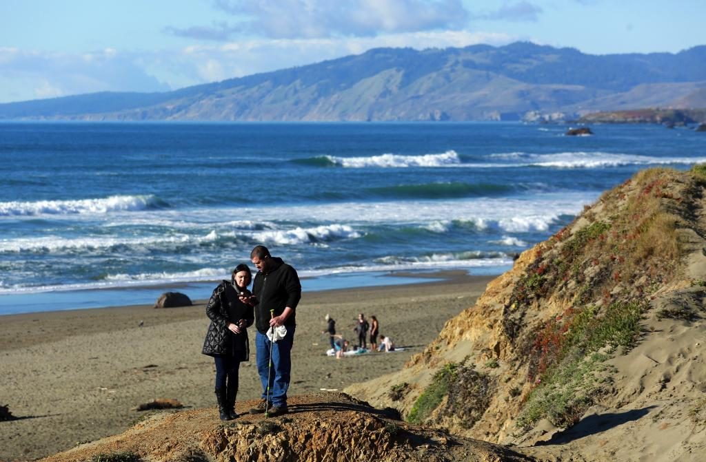 From the taffy and kite stores, to eating Dungeness crab, hiking and just taking in a little fresh salt air, the Bodega Bay Coast gets top marks from visitors. (JOHN BURGESS / The Press Democrat)