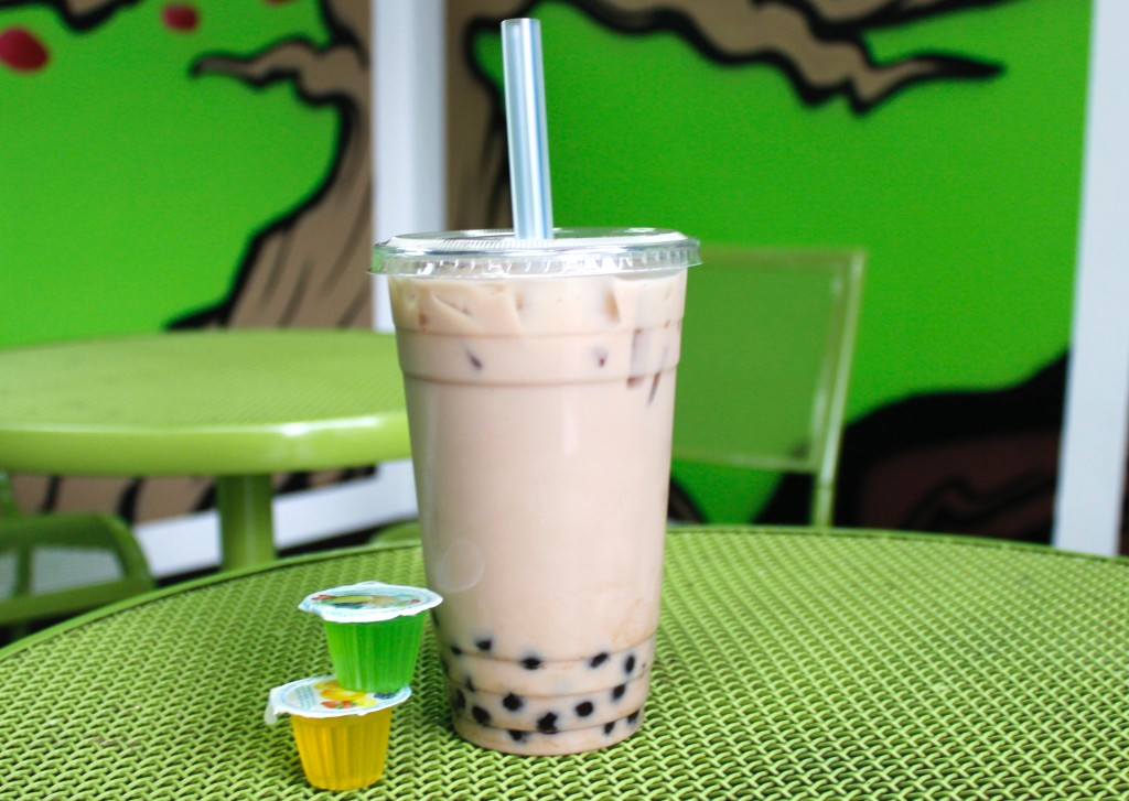 Vanilla Milk Tea from TeaRex. (Photo by Jenna Fischer)