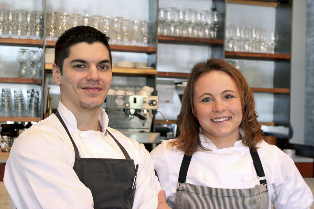 Patrick and Casey Van Voorhis take over Healdsburg's Spoonbar as co-executive chefs.