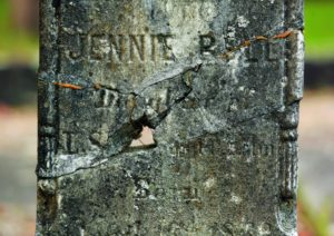 Headstones damaged by passing time or vandalism have been pieced back together by volunteers over the past 20 years.