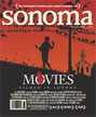 Sonoma Magazine Movies Cover Jan/Feb 2016