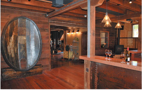 At Martinelli Winery in Windsor, an old hop barn has been turned into a warmly welcoming tasting room. (Photo courtesy of Martinelli Winery)