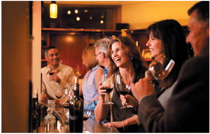 Rodney Strong Vineyards in Healdsburg produces a long list of wines, from Bordeaux varietals to Pinot Noir and Zinfandel. (Photo Courtesy of Rodney Strong Vineyards)