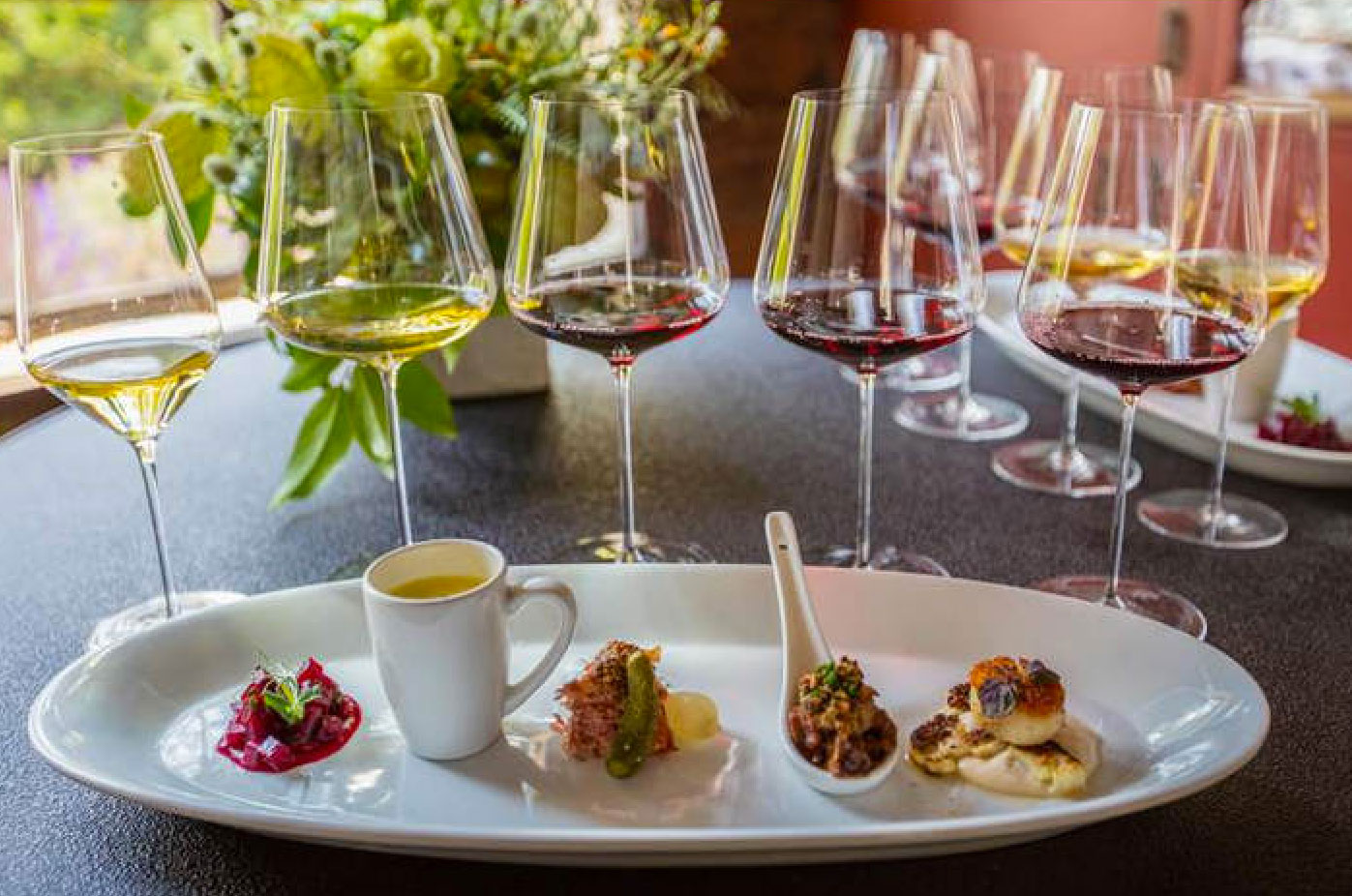 wine pairing Figs are a delicacy that show up only seasonally wine pairings for peak-fresh figs complement the delicate sweet flavor of the fruit.