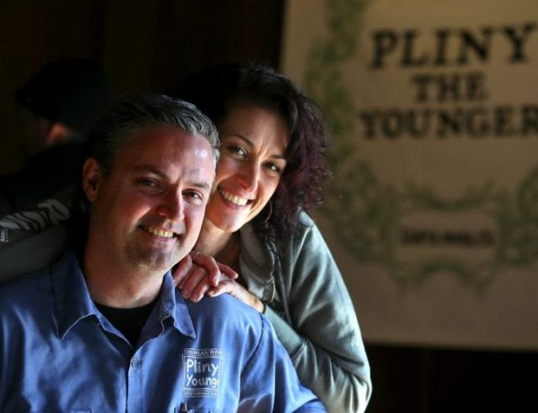 Russian River Brewing Company's Vinnie Cilurzo, with wife Natalie, is a semifinalist for Outstanding Wine, Spirits or Beer Professional in the James Beard Foundation Awards.