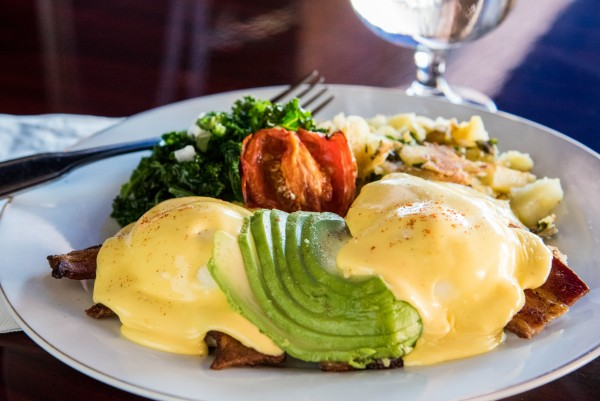 Eggs benny at Sprenger's Tap Room: The secret breakfast. Photo: Nathan Pintor