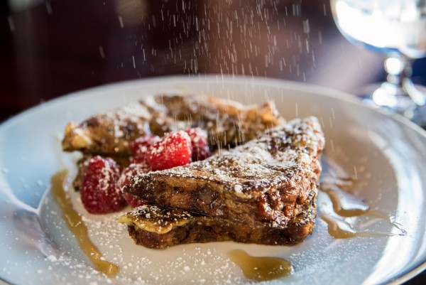 French toast at Sprenger's Tap Room: The secret breakfast. Photo: Nathan Pintor