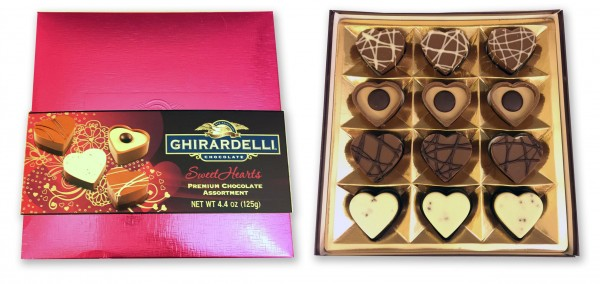 Ghiradelli Sweet Hearts Premium Chocolate Assortment