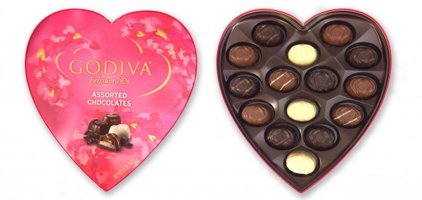 Godiva Valentine Assortment