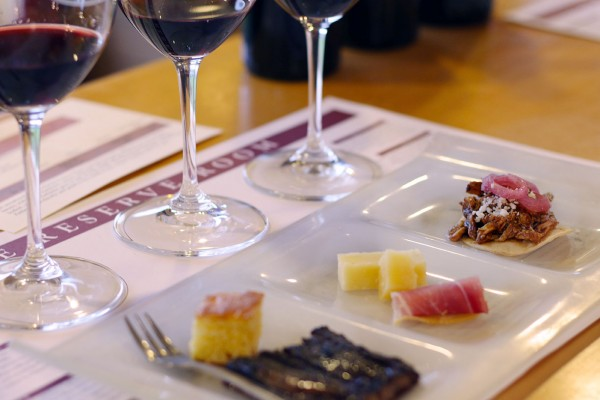 Mayo Family Winery Reserve Tasting Room features a 7-course wine pairing adventure perfect for Valentines. (Heather Irwin)