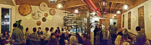 Persimmon restaurant in Healdsburg (Danny Mai)