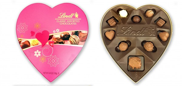 Lindt Classic Assorted Chocolates Valentine Chocolates