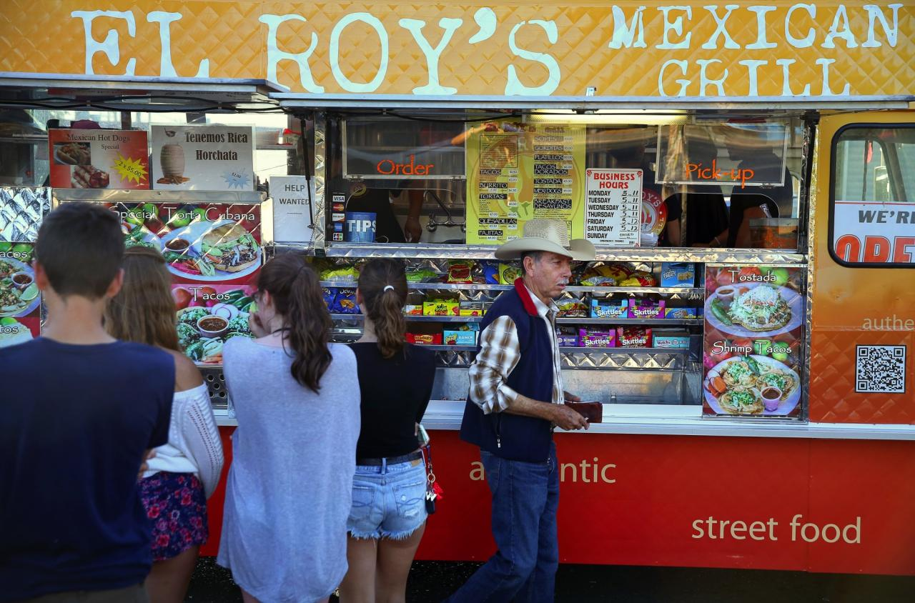 El Roy's Mexican Grill, which has been voted the best food truck in Sonoma County, often has a line spanning the parking lot they're in. But it's no wonder people wait for El Roy's, the tacos are the real deal. The truck can be found on  Edith St. in Petaluma or Sebastopol Road in Roseland.(Christopher Chung/ The Press Democrat)