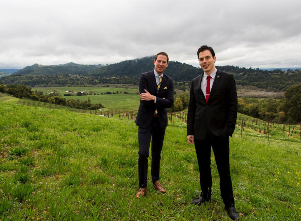 GM David Sisler and Sommelier Evan Hufford have been hired for the forthcoming Single Thread Farm Restaurant in Healdsburg. (courtesy photo)