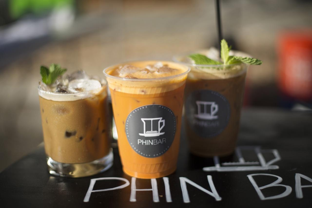 Phin Bar serves up a selection of Vietnamese-style steeped coffee drinks and Thai Tea at their pop-up stands in local farmers markets, but waiting in between markets for a Vietnamese coffee fix can be tough. See more info at phinbar.com (Photo: Erik Castro/for Sonoma Magazine)