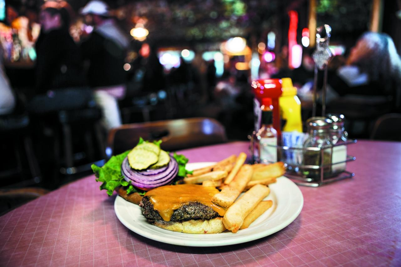 No matter what else changes, there'll always be a burger and fries on the menu. (Photo / Chris Hardy)