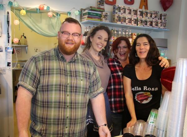 Bella Rosa Coffee Company Cafe in Santa Rosa, California (Heather Irwin)