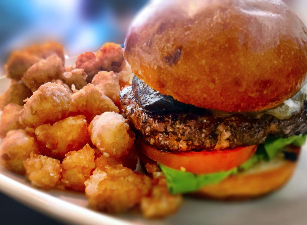 Cabernet Burger at Bibi's Burger Bar in Santa Rosa (Heather Irwin)