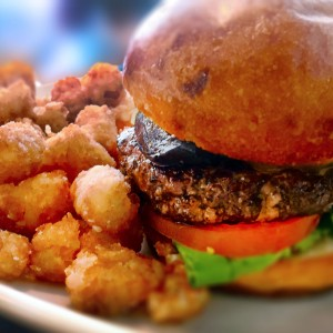 Cabernet Burger at Bibi's Burger Bar in Santa Rosa (Heather Irwin)